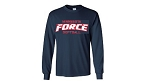 Minnesota Force Softball Long Sleeve T-Shirt-Silk Screened