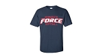 Minnesota Force Softball T-Shirt-Silk Screened
