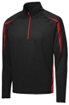 Sport Tek 1/2 Zip Colorblock Pullover -FORCE Embroidered logo included
