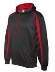 Badger - Pro Heather Fusion Performance Fleece Hooded Pullover -MFA EMBROIDERED Logo Included