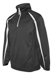 Badger - Pro Heather Fusion Performance Fleece Quarter-Zip Pullover - MFA EMBROIDERED Logo included
