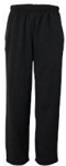 Badger BT5 Performance Fleece Open Bottom Sweatpants- FORCE Embroidered Logo Included