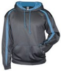 Badger - Pro Heather Fusion Performance Fleece Hooded Pullover -EMBROIDERED Logo Included