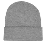 Bayside - 12'' Knit Beanie with Cuff -MFA Embroidered Logo Included