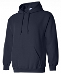 Gildan Dry Blend Hooded Sweatshirt- Twill FORCE Logo Included