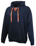 FORCE Pennant Faceoff 2-lace HOODIE Sweatshirt- Silk Screened logo-Included