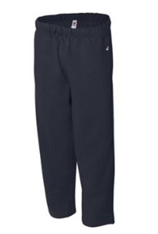 ADULT Badger Open Bottom Pocketed Sweatpants-INCLUDES FORCE EMBROIDERED LOGO