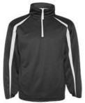 Badger - Pro Heather Fusion Perfomance Fleece Quarter-Zip Pullover