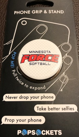 Get a Grip-'FORCE' POP SOCKET for your phone!