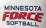 MN Force Oval Window Decal