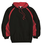 Badger Hook Hooded Sweatshirt -TWILL MFA LOGO included