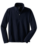 Port Authority - Fleece 1/4 Zip Pullover - FORCE Embroidered left crest included
